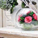 Купить розы в стекле на заказ: доставка цветов в вакууме