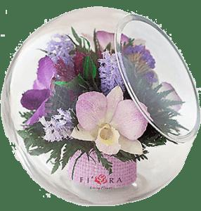 Как правильно ухаживать за цветами в стекле